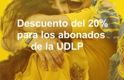 20% de descuento a los abonados UDLP