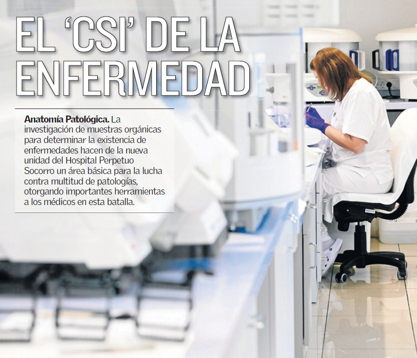 Anatomía Patológica: un servicio a la vanguardia | Hospital Perpetuo ...